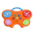 Игрушка музыкальная «Барабан-бабочка», световые и звуковые эффекты, в пакете