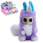 Интерактивная игрушка «Пушастик Кики» фиолетовая