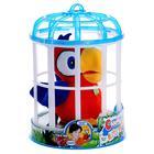 Игрушка интерактивная «Попугай Charlie», цвет красный