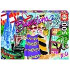 Пазл «Возьми меня в Барселону», 500 деталей