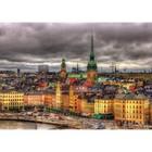Пазл «Вид на Стокгольм, Швеция», 1000 деталей