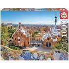 Пазл «Вид на Барселону из парка Гуэля», 1000 деталей
