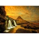Пазл «Водопад Киркьюфетльсфос, Исландия», 1000 деталей