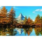 Пазл «Гора Маттерхорн осенью», 1000 деталей