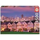 Пазл «Викторианские дома, Сан-Франциско», 1500 деталей