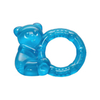 Прорезыватель охлаждающий «Мишутка с кольцом», цвет МИКС