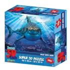 3D Пазл «Большая белая акула 2», 150 элементов