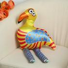 """Мягкая игрушка """"Фламинго"""", оранжевые полосы"""
