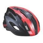 Велошлем BBB 2018 Condor черный/красный, размер M