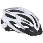 Велошлем BBB 2018 Taurus белый/серебрянный, размер M