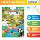 Говорящий плакат «Весёлый зоопарк», звуковые эффекты