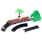 """Железная дорога """"Классик товарный"""", работает от батареек, в пакете"""