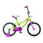 """Велосипед 16"""" Novatrack Neptun, 2019, цвет зелёный"""