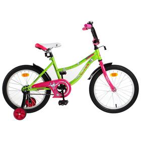 """Велосипед 18"""" Novatrack Neptun, 2019, цвет зелёный"""