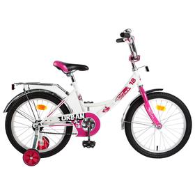 """Велосипед 18"""" Novatrack Urban, 2019, цвет белый"""