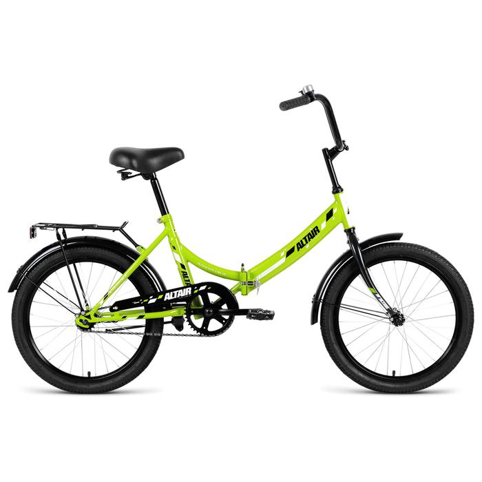 Велосипед 20 Altair CITY 20 2019, цвет зелёный, размер 14