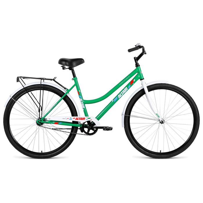 Велосипед 28 Altair City Low 28 RUS, 2019, цвет зелёный, размер 19