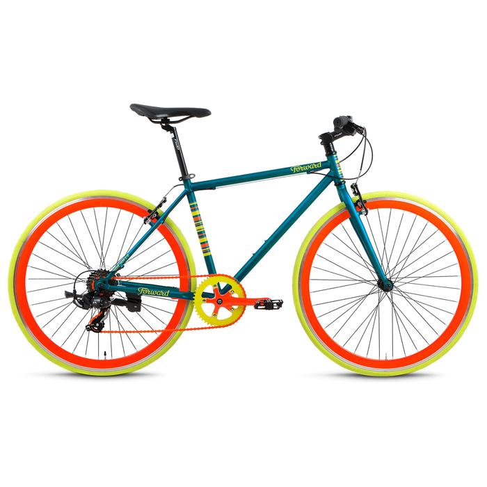 Велосипед 28 Forward INDIE JAM 2.0, 2017, цвет зелёный матовый, размер 18