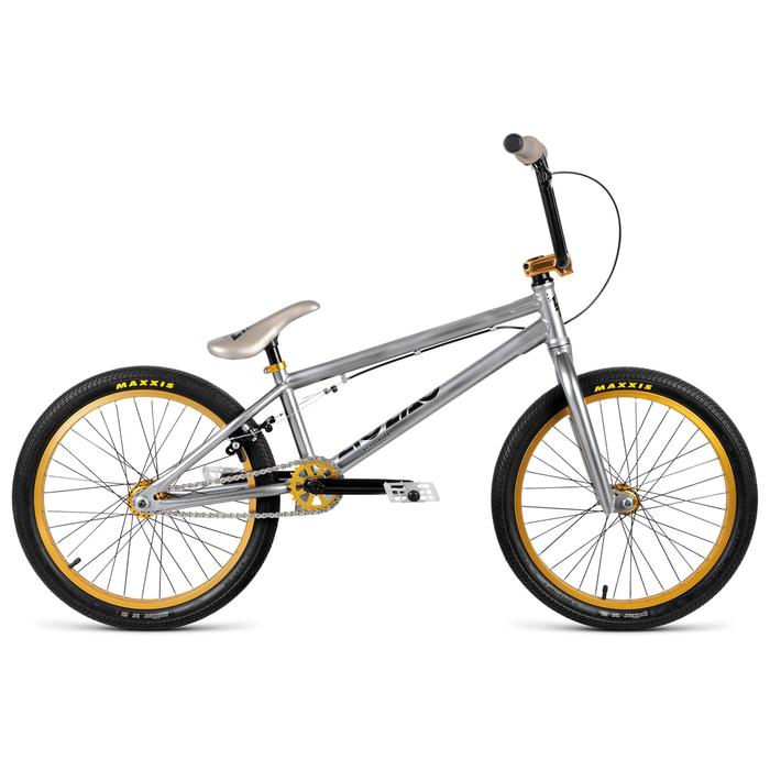 Велосипед 20 Forward BMX ZIGZAG 1.0, 2019, цвет хром, размер 20,5