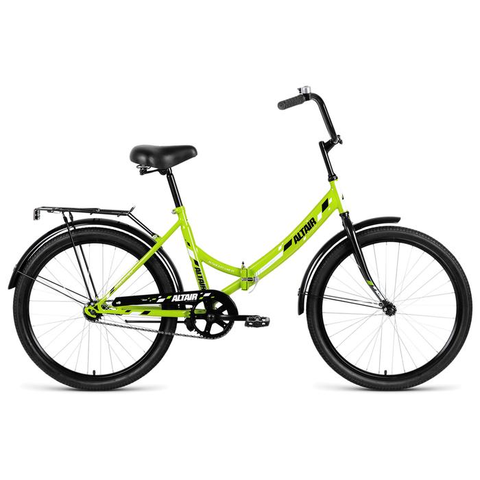 Велосипед 24 Altair CITY 24 2019, цвет зелёный, размер 16