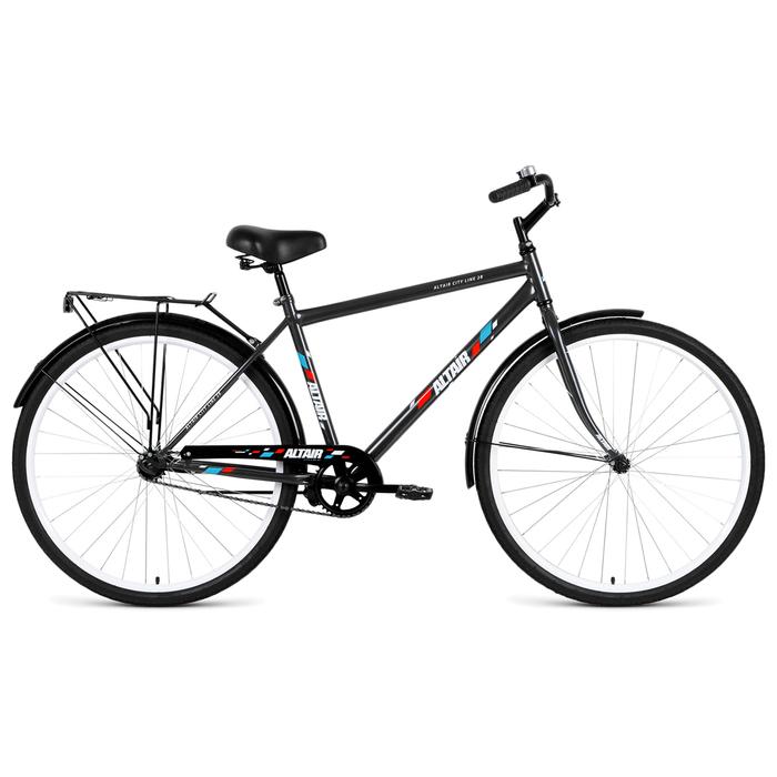 Велосипед 28 Altair City high 28, 2019, цвет серый, размер 19