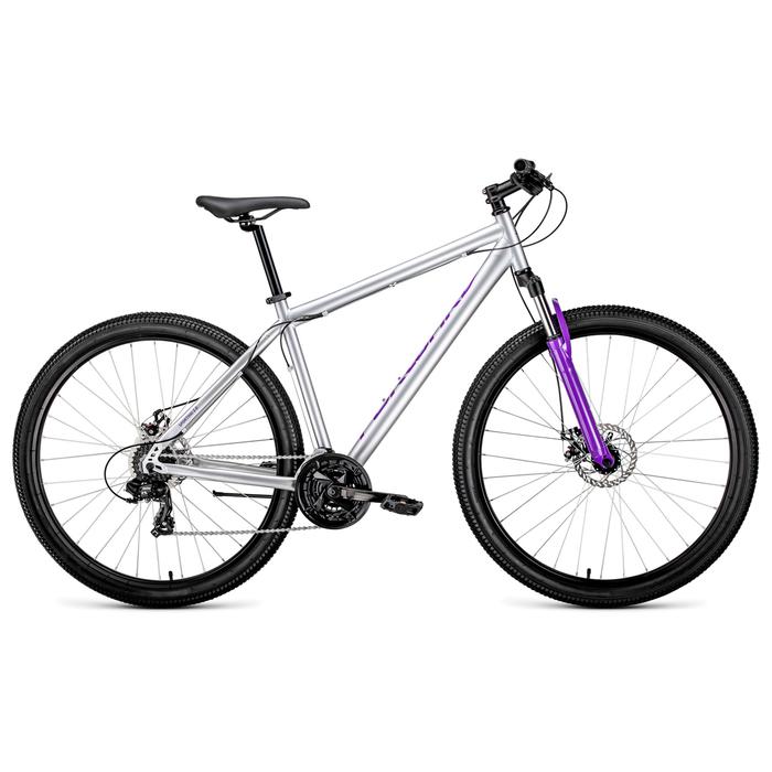 Велосипед 29 Forward Sporting 2.0 disc, 2019, цвет серый, размер 17