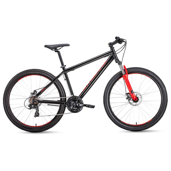 Велосипед 27,5 Forward Sporting 2.0 disc, 2019, цвет чёрный, размер 17