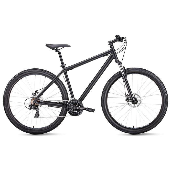 Велосипед 29 Forward Sporting 2.0 disc, 2019, цвет чёрный матовый, размер 17