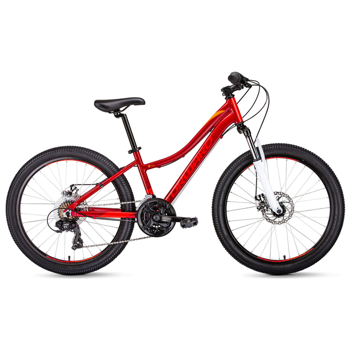 Велосипед 24 Forward Seido 24 2.0, 2019, цвет красный, размер 13