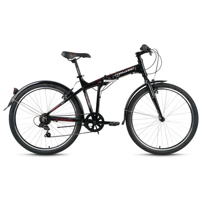 Велосипед 26 Forward Tracer 1.0, 2018, цвет чёрный, размер 17