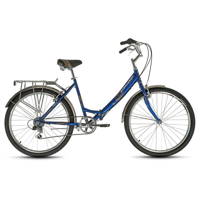 Велосипед 26 Forward SEVILLA 2.0, 2019, цвет синий, размер 18,5