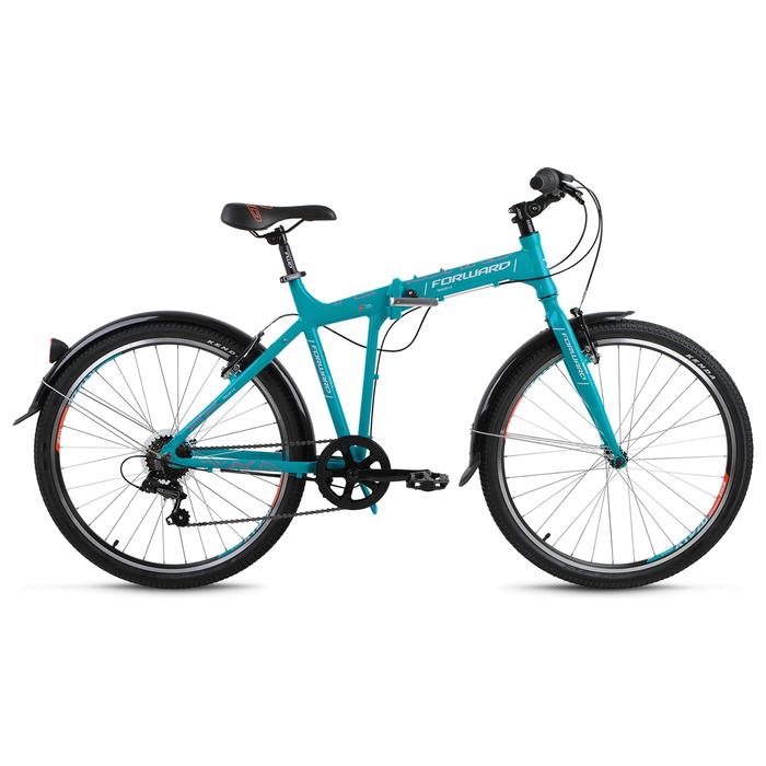 Велосипед 26 Forward Tracer 1.0, 2018, цвет бирюзовый матовый, размер 19