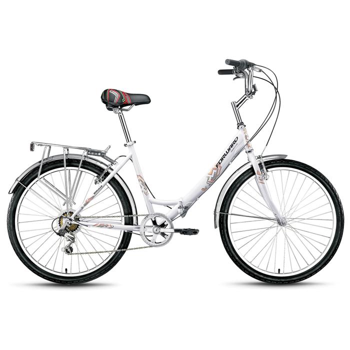 Велосипед 26 Forward SEVILLA 2.0, 2019, цвет белый, размер 18,5