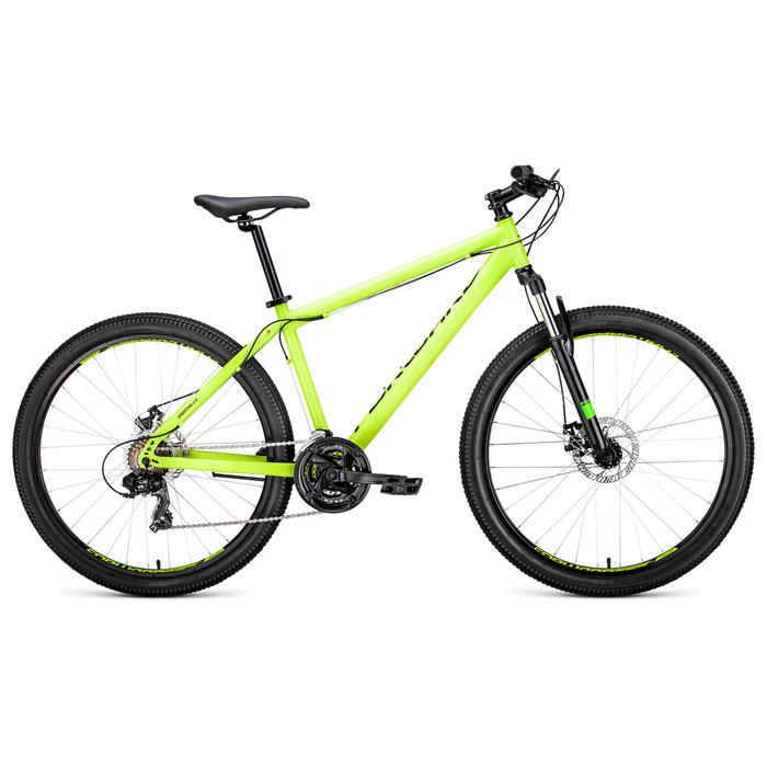 Велосипед 27,5 Forward Sporting 2.0 disc, 2019, цвет зелёный, размер 19