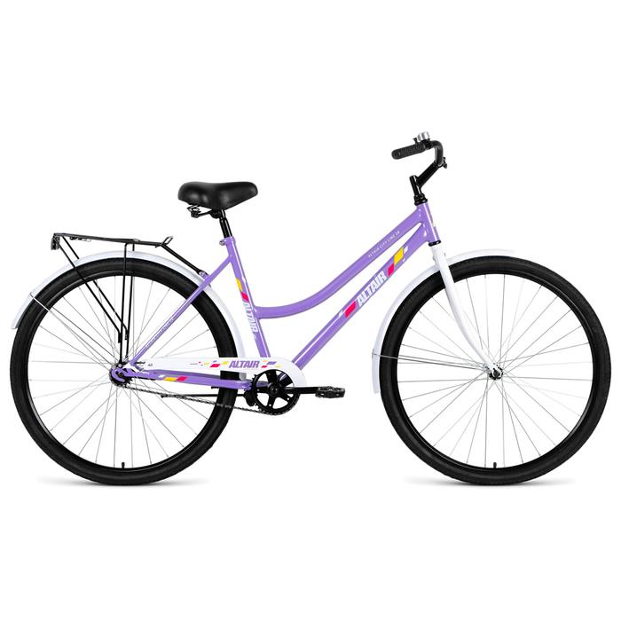 Велосипед 28 Altair City Low 28 RUS, 2019, цвет фиолетовый, размер 19