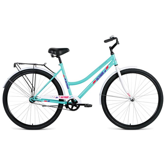 Велосипед 28 Altair City Low 28 RUS, 2019, цвет ментоловый, размер 19