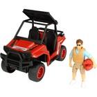 Игрушка PlayLife «Квадроцикл паркового рейнджера», с фигуркой и аксессуарами