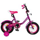 "Велосипед 12"" Graffiti Fashion Girl, цвет фиолетовый"
