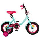 "Велосипед 12"" Graffiti Fashion Girl, цвет бирюзовый"