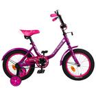 "Велосипед 14"" Graffiti Fashion Girl, цвет фиолетовый"