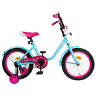 "Велосипед 16"" Graffiti Fashion Girl RUS 2019, цвет бирюзовый"