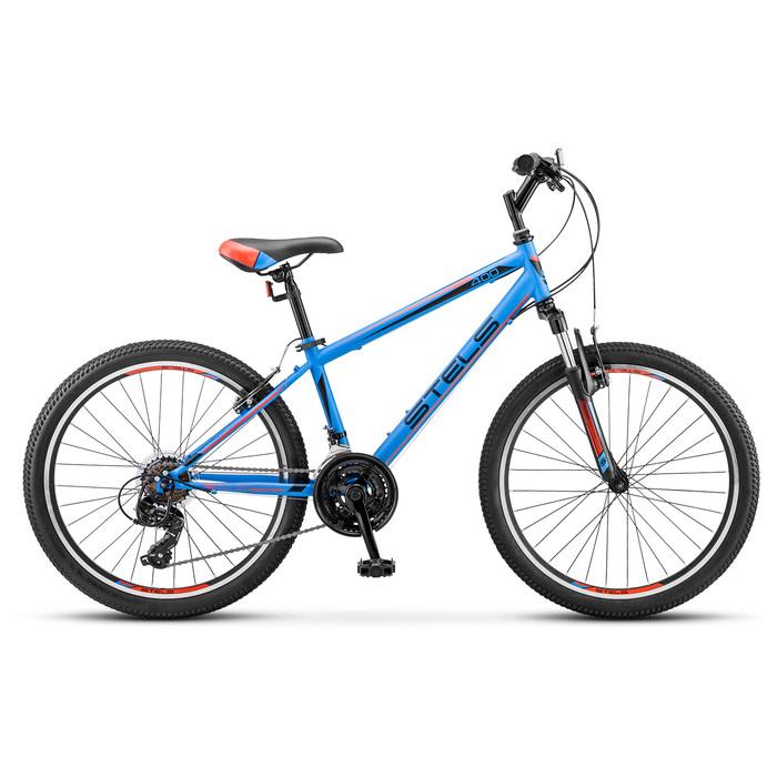Велосипед 24 Stels Navigator-400 V, V040, цвет темно-синий/красный, размер 12
