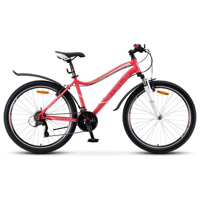 Велосипед 26 Stels Miss-5000 V, V040, цвет розовый, размер 17