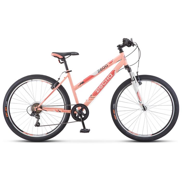 Велосипед 26 Десна-2600, V020, цвет персиковый, размер 15