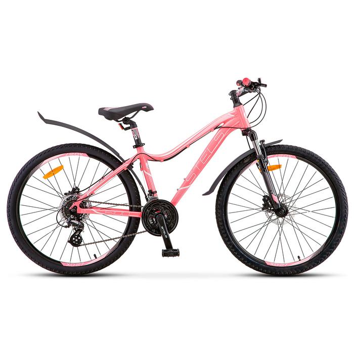 Велосипед 26 Stels Miss-6100 D, V010, цвет светло-красный, размер 15