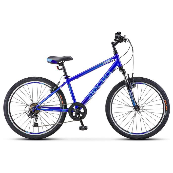 Велосипед 24 Десна Метеор, V010, цвет синий, размер 14