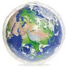 Мяч пляжный «Земля», d=61 см, с подсветкой, от 2 лет