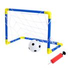 Ворота футбольные «Мини-футбол», сетка, мяч, насос, размер ворот 60х41х29 см