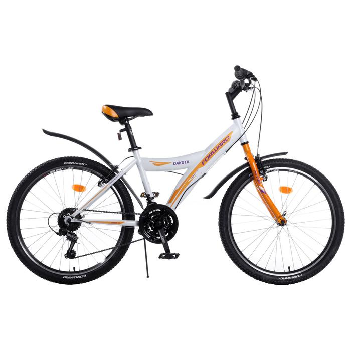 Велосипед 24 Forward Dakota 24 1.0, 2018, цвет белый размер 13