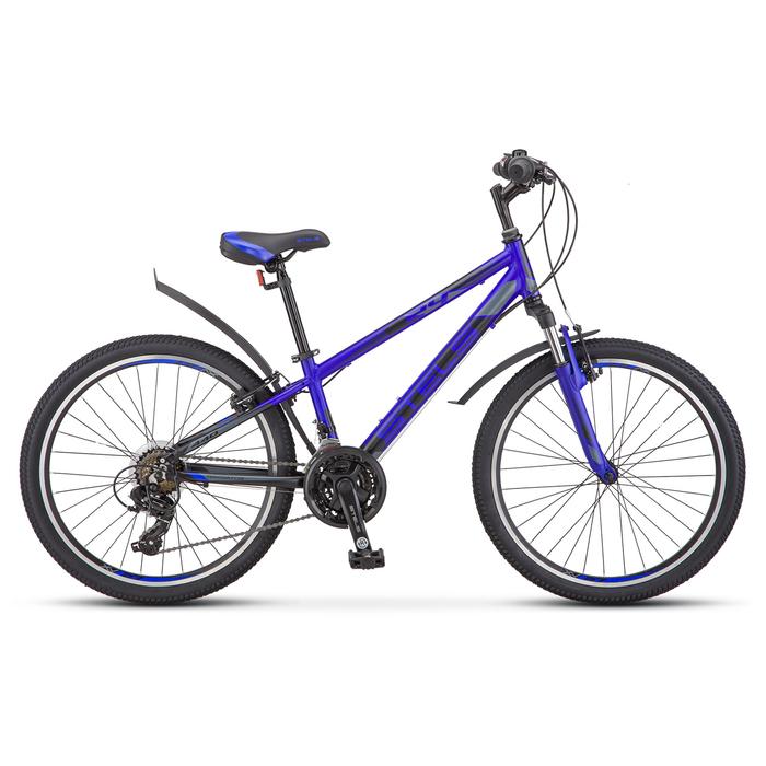 Велосипед 24 Stels Navigator-440, V030, цвет синий, размер 13